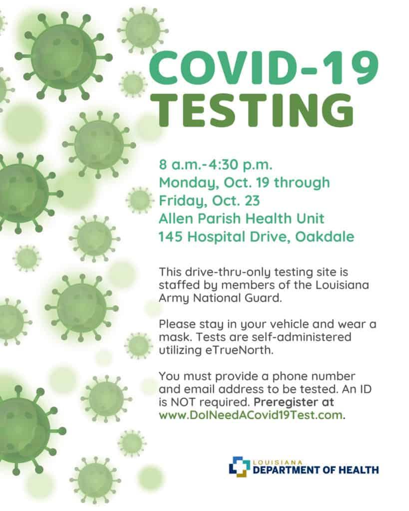 Oakdale COVID-19 Testing