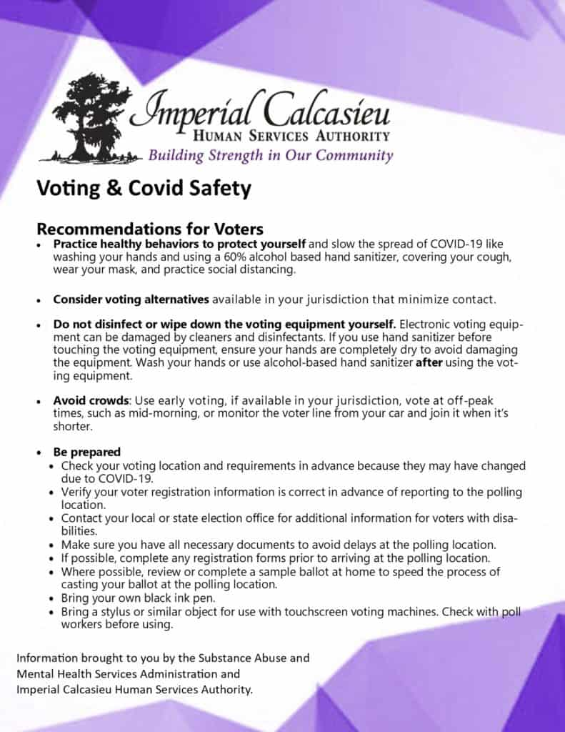 Voting & COVID-19 Information