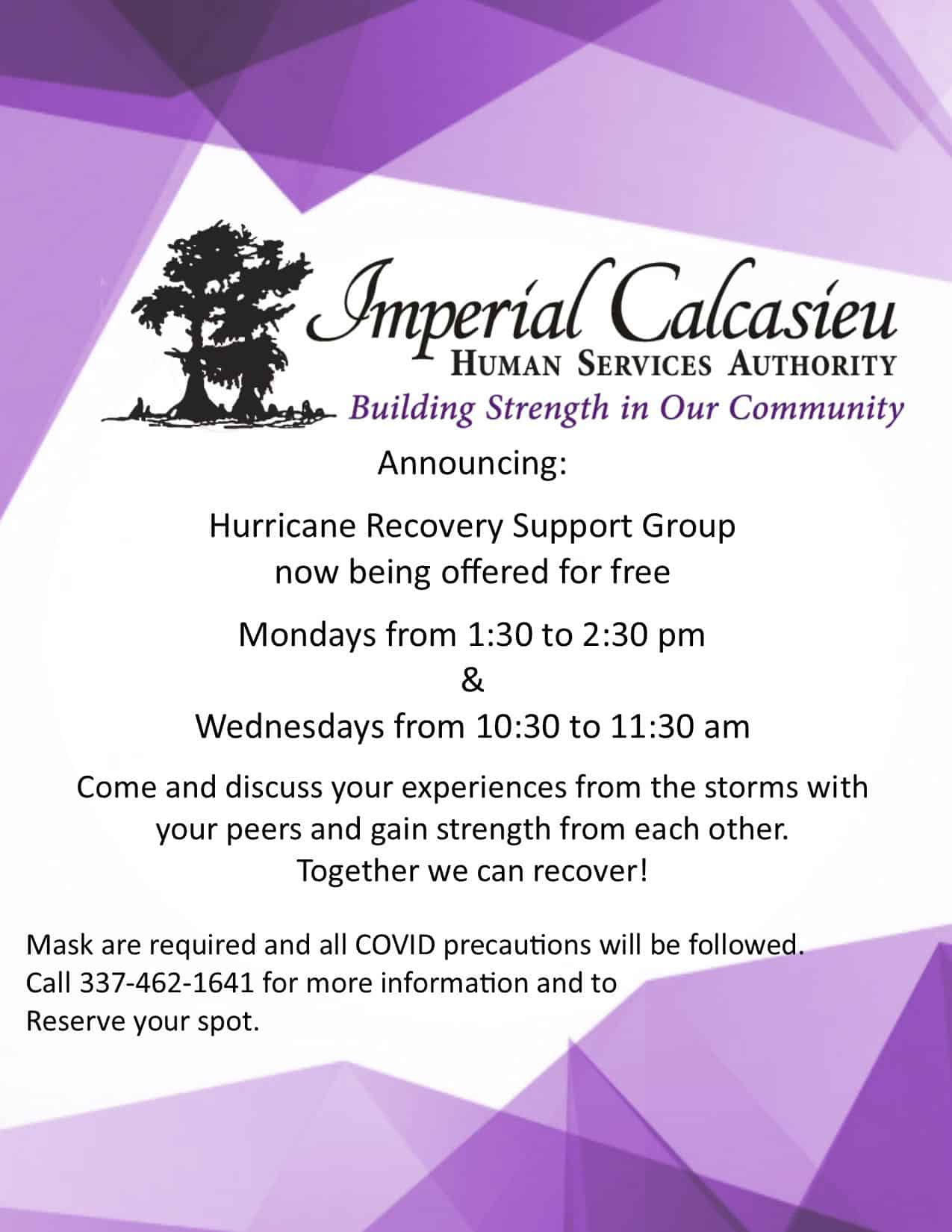 Hurricane Recovery Support Group