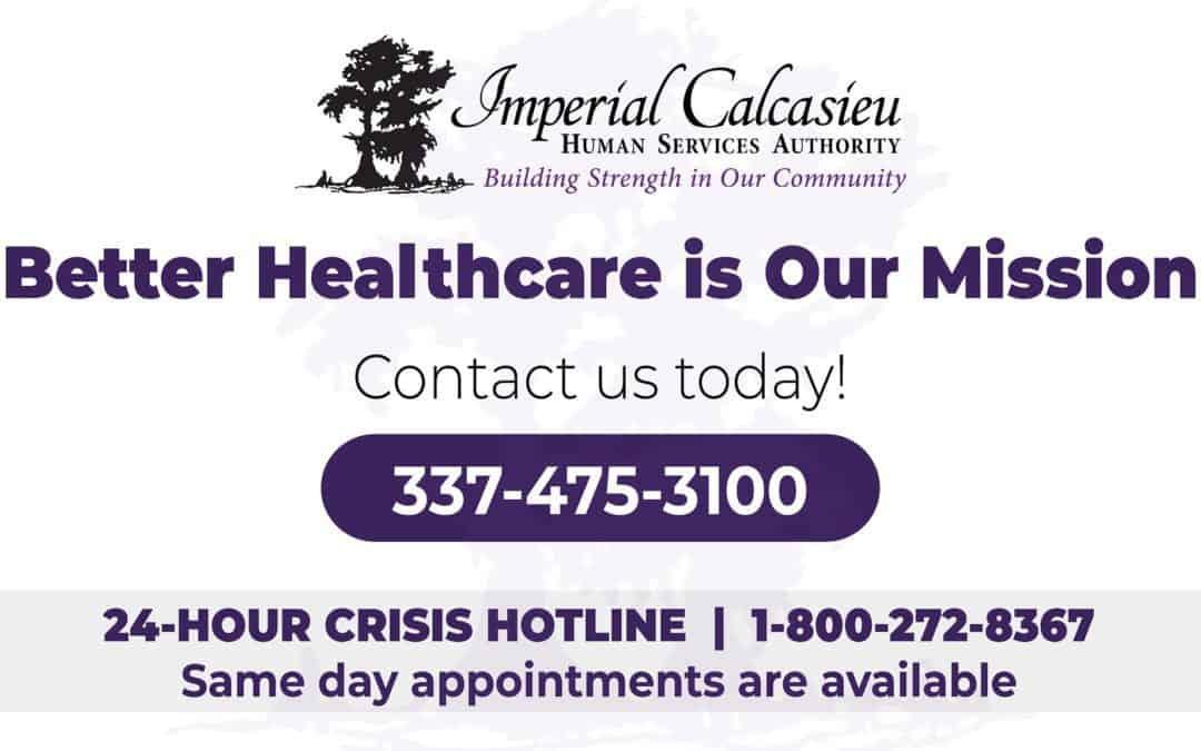 Behavioral Health & Developmental Disability Assistance Available